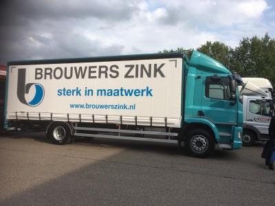Vrachtwagen Brouwers Zink